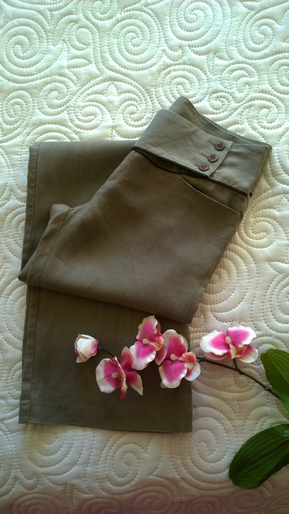 spodnie len Orsay XS S