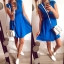 Sukienka Damska niebieska M rozkloszowana