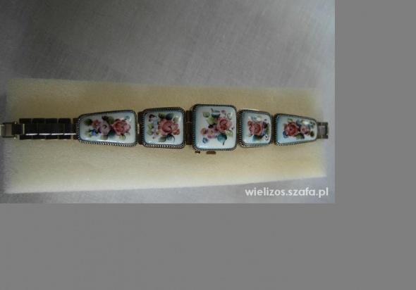 Pozostałe Zegarek Porcelanowa Czajka
