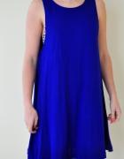 Kobaltowa sukienka HiM...