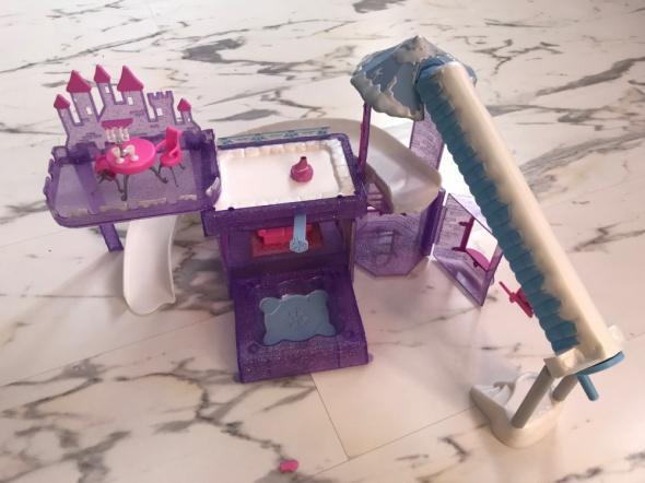 Polly Pocket zabawki lalki zestaw duży