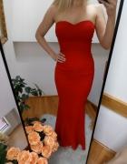 Piękna maxi sukienka Nly Eve xs syrenka