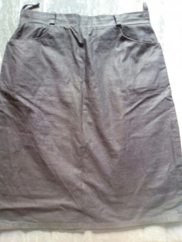 Spódnice czarna spódnica ołówkowa