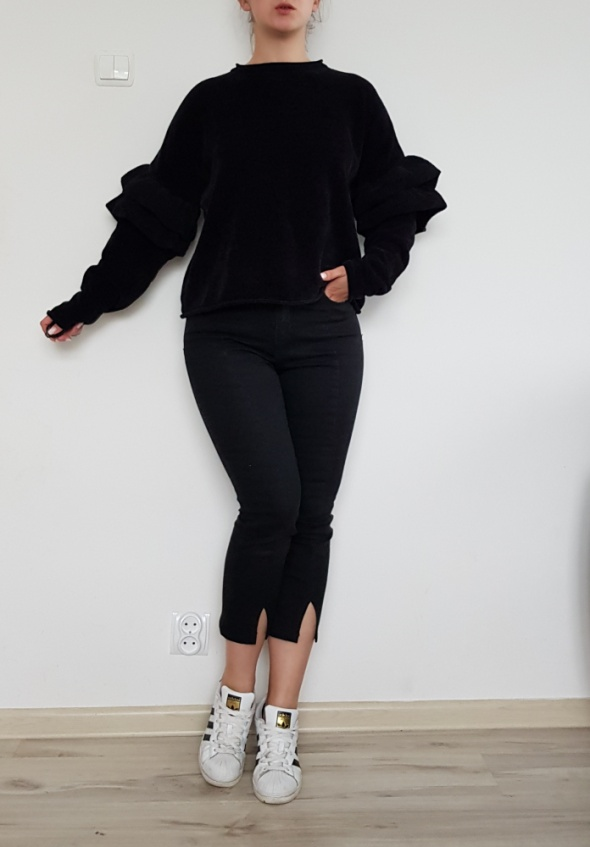 Czarna bluza Zara 40 L