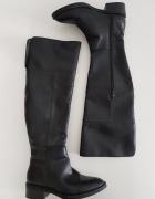 Czarne kozaki za kolano Zara 37...
