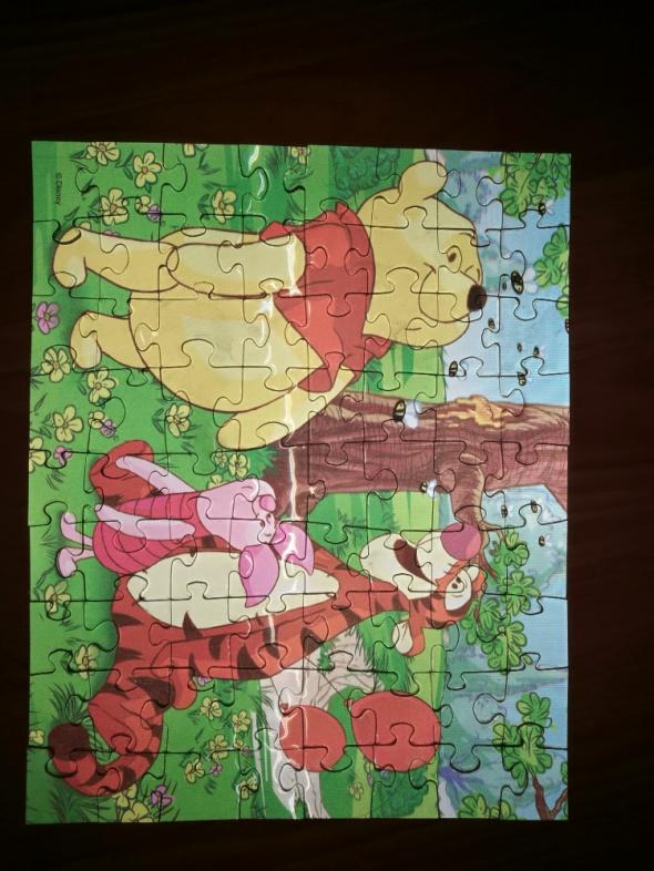 Puzzle 3D Kubusia Puchatka
