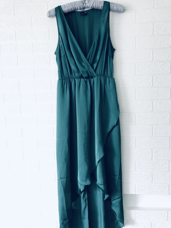 Sukienka 36 S Gina Tricot butelkowa zielen...
