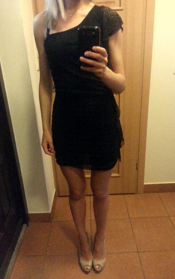 Śliczna sukienka na ramie ITALY