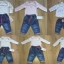 Jasne body z długim rękawem i spodnie jeasny dziew
