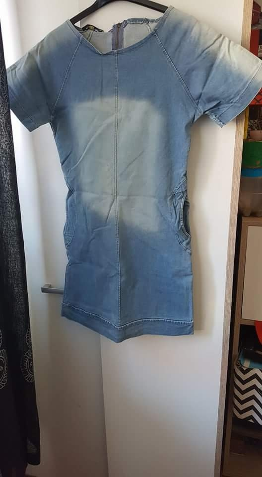 Nowa sukienka dzinsowa