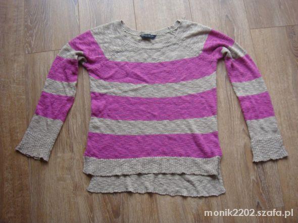 Sweter w paski rozmiar 38...