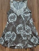 Tunika sukienka brązowa Wallis L...