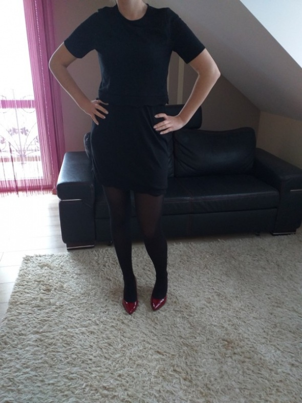 dwucześciowa sukienka