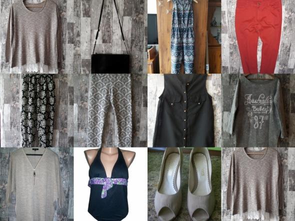 Zestaw ubrań i dodatków