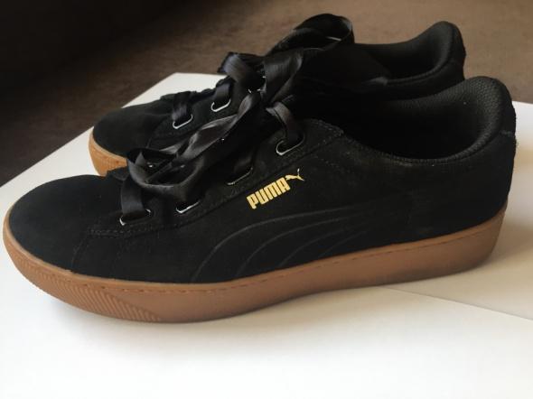 Sportowe Sneakersy Puma na platformie