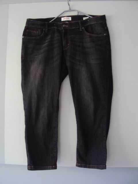 Spodnie spodnie rybaczki jeans