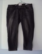 spodnie rybaczki jeans...