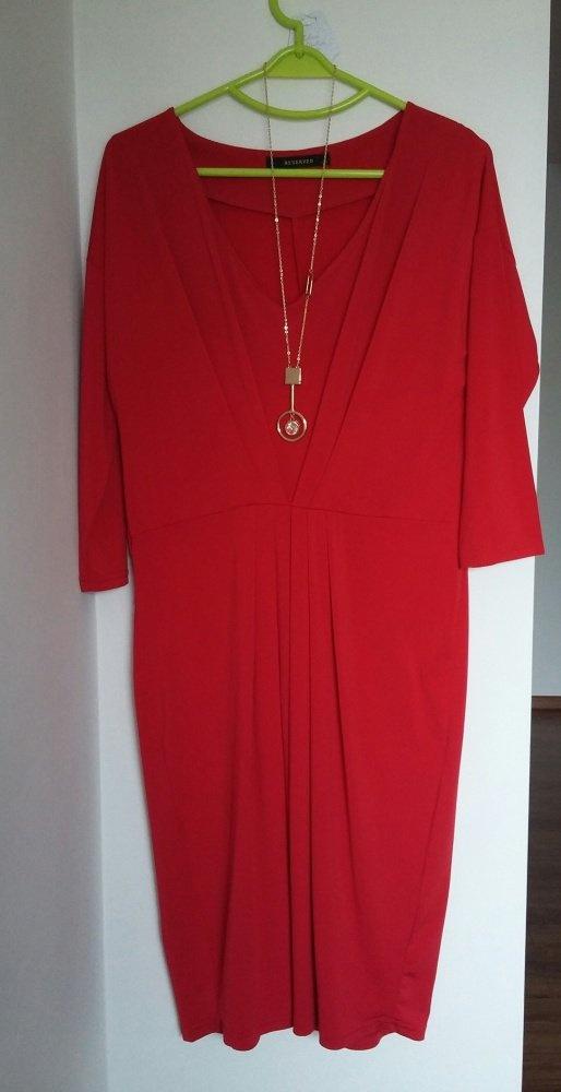Suknie i sukienki CZERWONA RESERVED