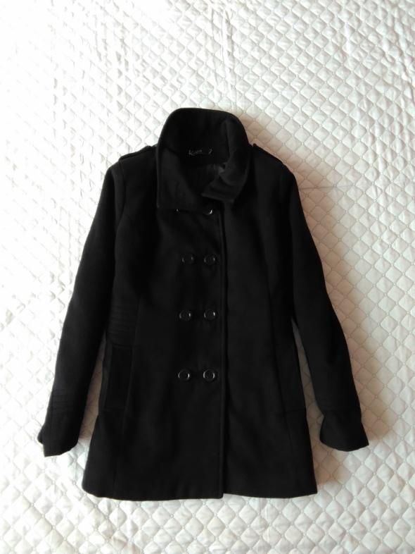 Czarny płaszczyk XL XXL