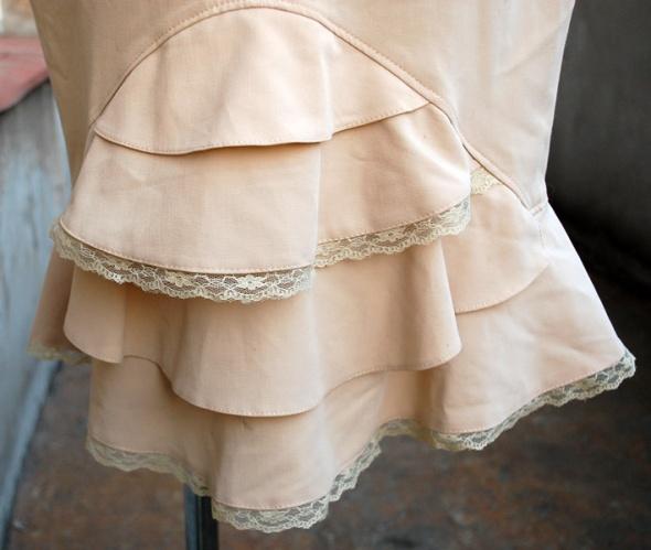 Francuska stylowa pin up spódniczka