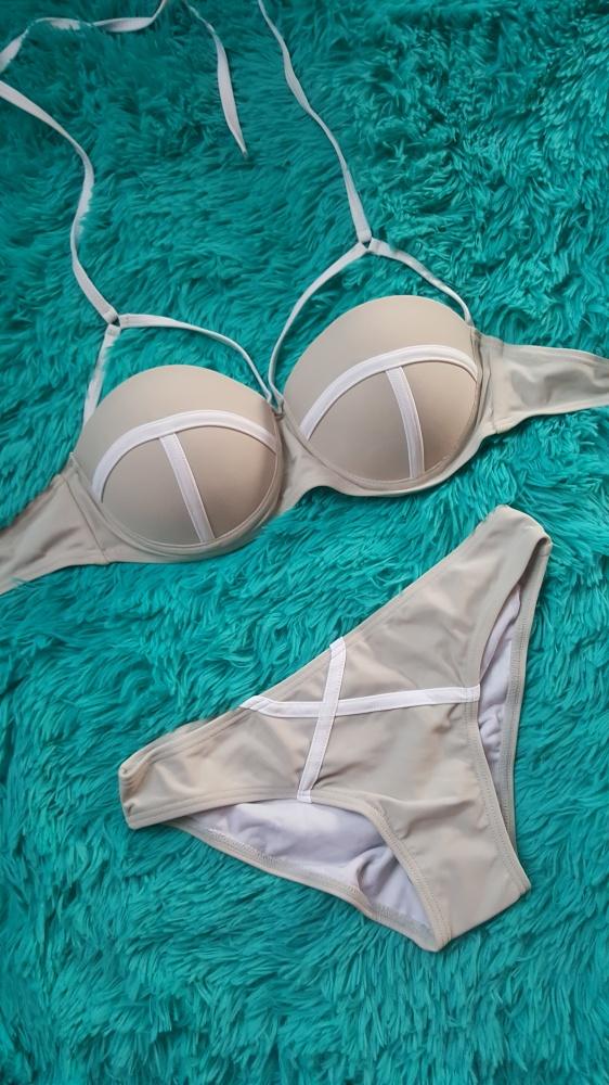 Bikini push up straps triangl agent siwiec