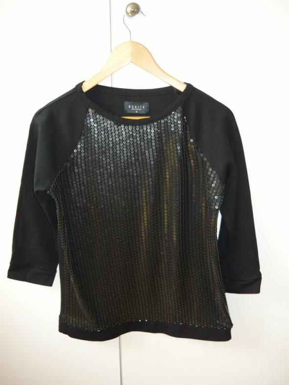 Czarna bluza bluzka M 38 Mohito