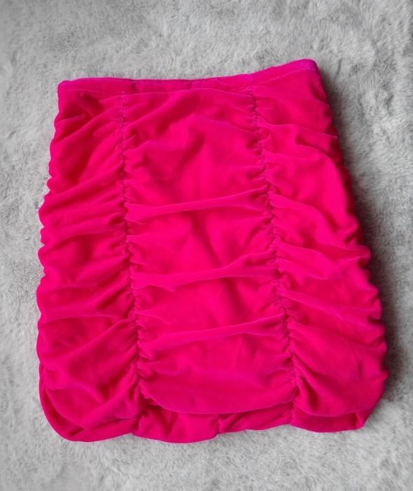 Różowa spódnica H&M...