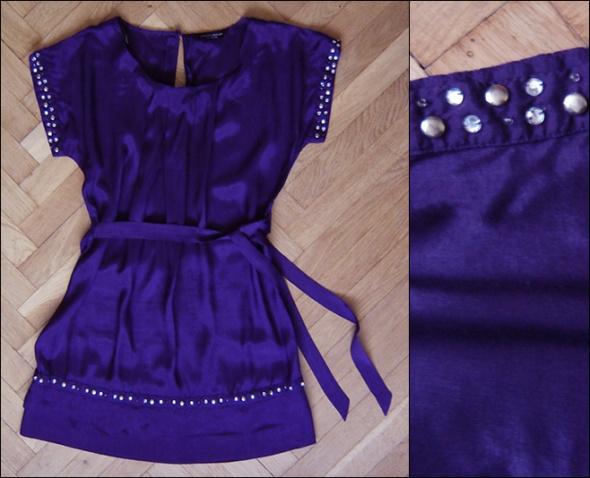Fioletowa sukienka Dorothy Perkins rozmiar L 40 dżety