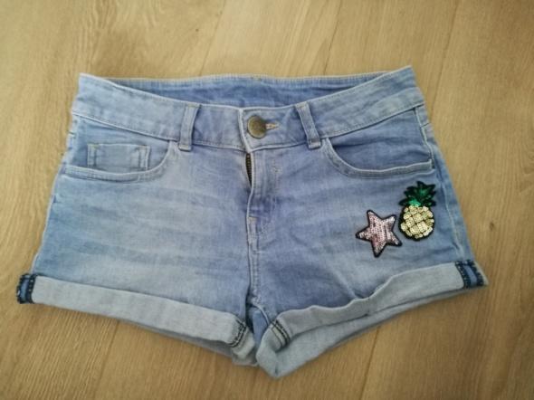 Jeansowe spodenki dla dziewczynki