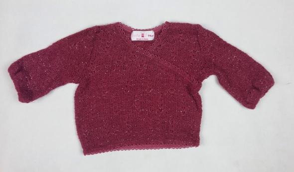 sweterek od 2 do 4 miesięcy 62 cm