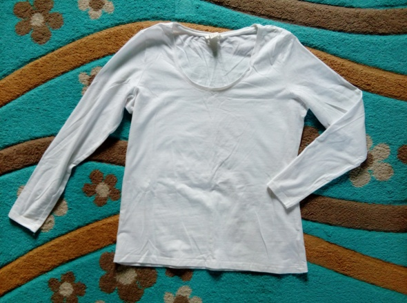 Biała bluzka basic 42