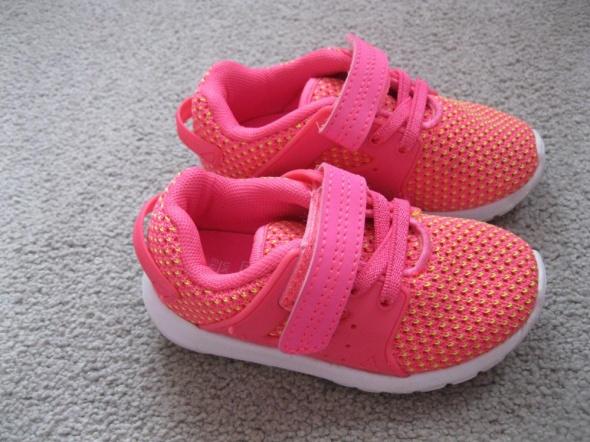 adidasy sneakersy 23 nowe różowe F&F