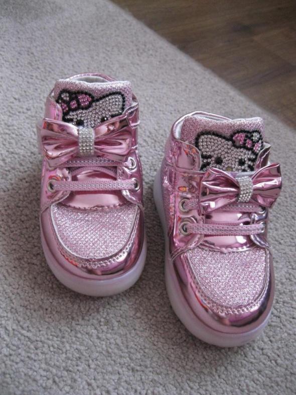 adidasy sneakersy HELLO KITTY 22 różowe