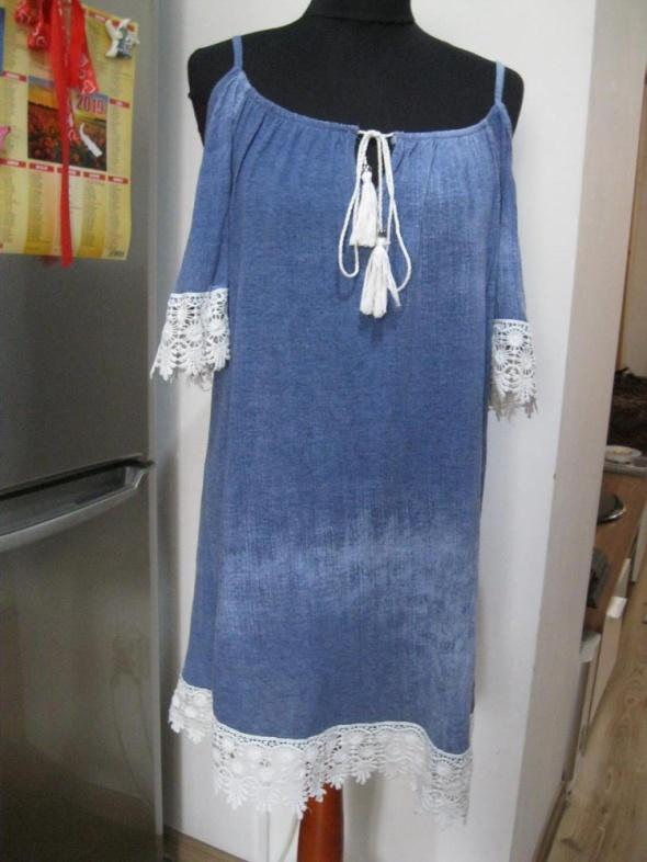 sukienka hiszpanka L z koronką