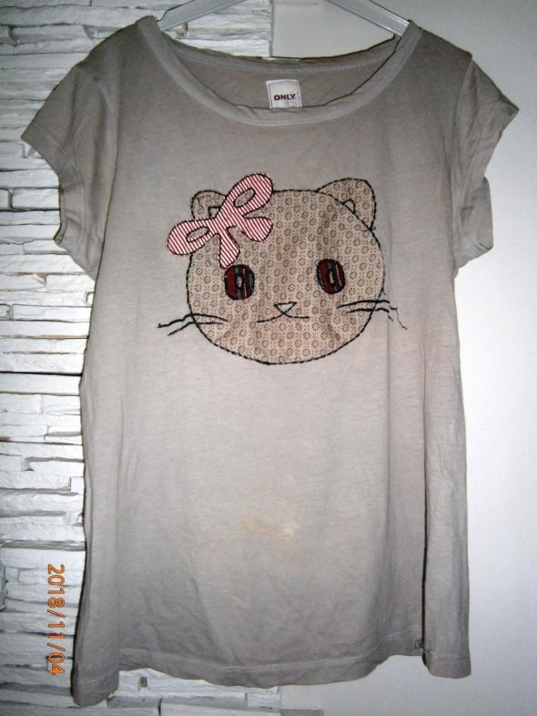Bluzki bluzka z kotkiem