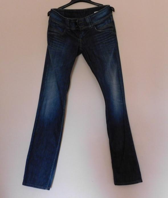 Spodnie Pepe Jeans spodnie proste granatowe 28 na 34 38