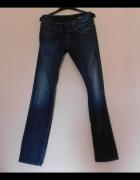 Pepe Jeans spodnie proste granatowe 28 na 34 38...