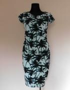 KappAhl sukienka palmy turkus 36...