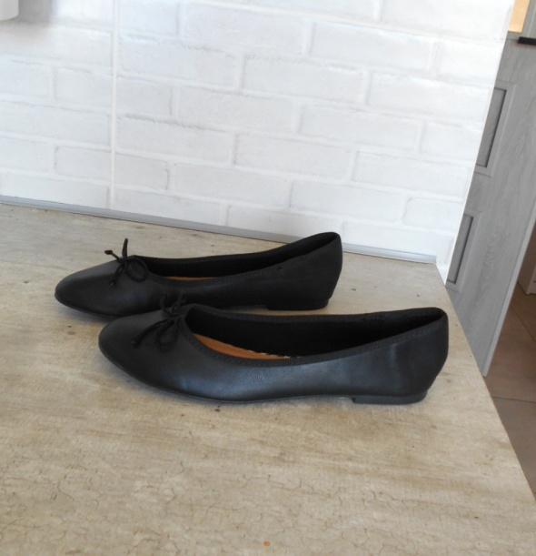 Topshop nowe czarne baleriny kokardki minimalizm klasyka...