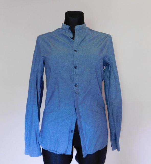 H&M niebieska koszula 34 36
