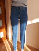 Spodnie jeansy push up Bershka 34 XS...
