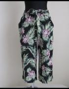 Spodnie lekkie luźne spodenki szorty rybaczki 42 XL...