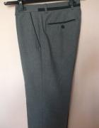 Szare spodnie cygaretki FF 38...