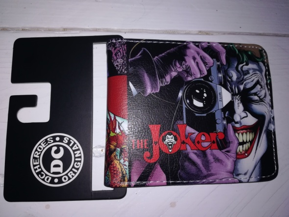 Nowy męski portfel