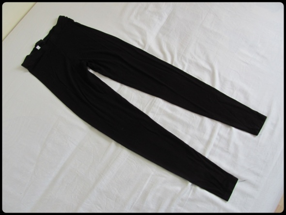 Legginsy Czarne legginsy TU rozmiar 34 XS