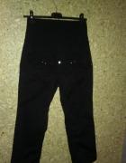 H&M Mama Czarne spodnie ciążowe 7 8 M 38...