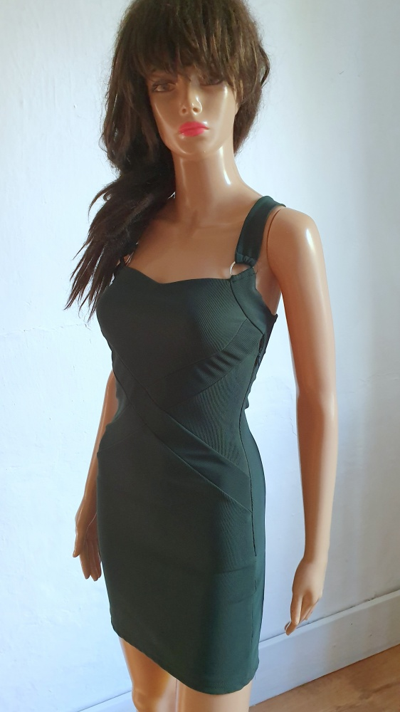 Dopasowana krótka sukienka r XS...
