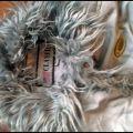 Bardzo ciepły płaszczyk na polarze 134 cm pół ceny