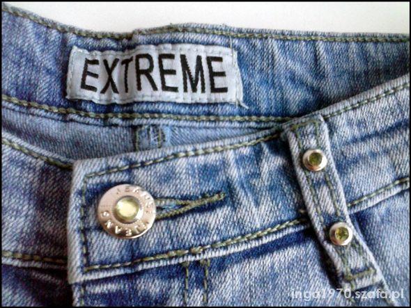 Nowe jeansy EXTREME rozmiar 27