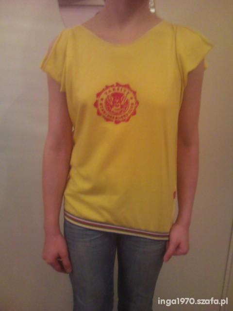 Fajna żółta koszulka rozmiar uniwersalny